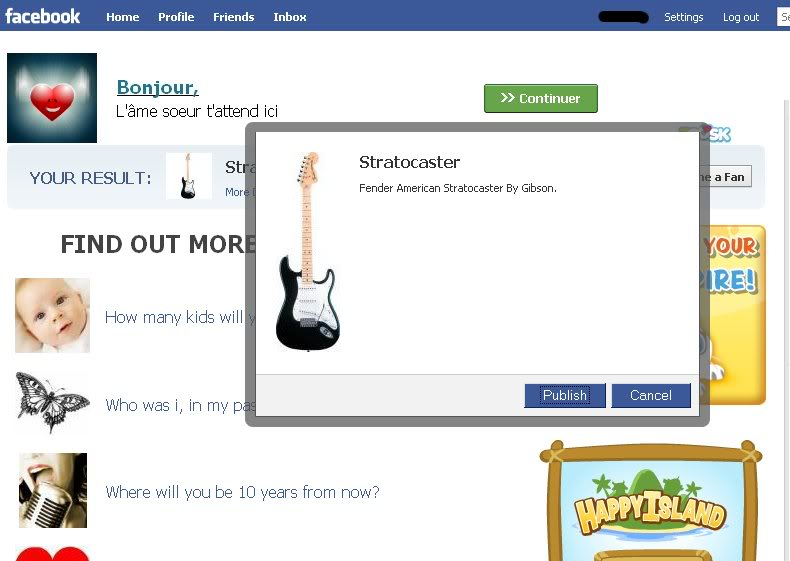 Guitar Ads Fail on Facebook