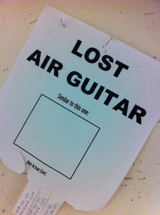 Lost Air Guitar