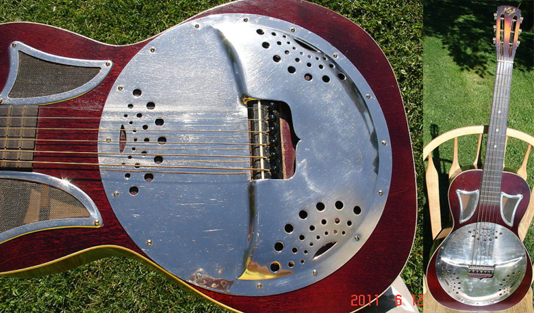 The 1935 May Bell Faux Resonator : Oldest Guitar Fail Ever ?