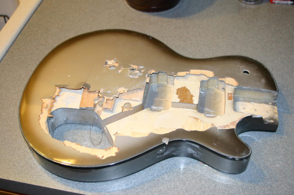 Les Paul Ruined Top