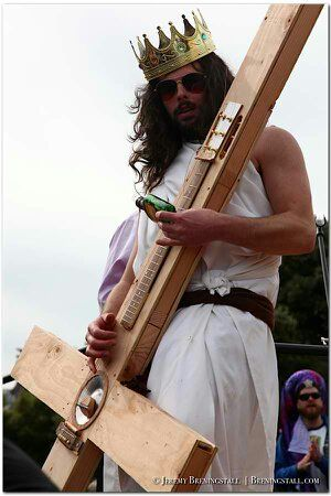 Jesus Plays a Resonator… Sorta !!