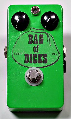 [Gear Names That Will Make You Blush] Bag Of Dicks Fuzz