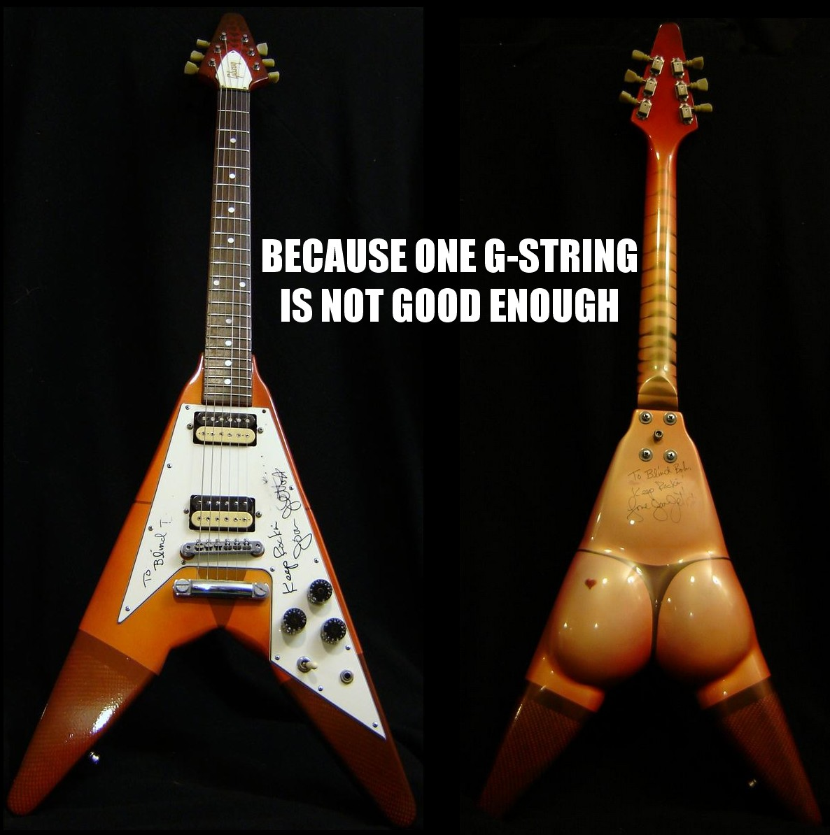 Because One G-String is Not Good Enough