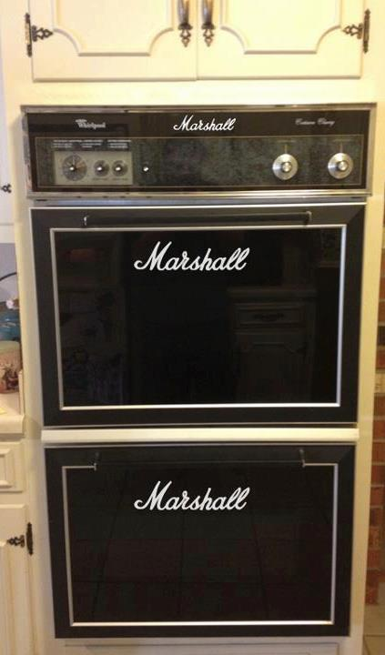 The Marshall Oven : Marshall New Merch ?