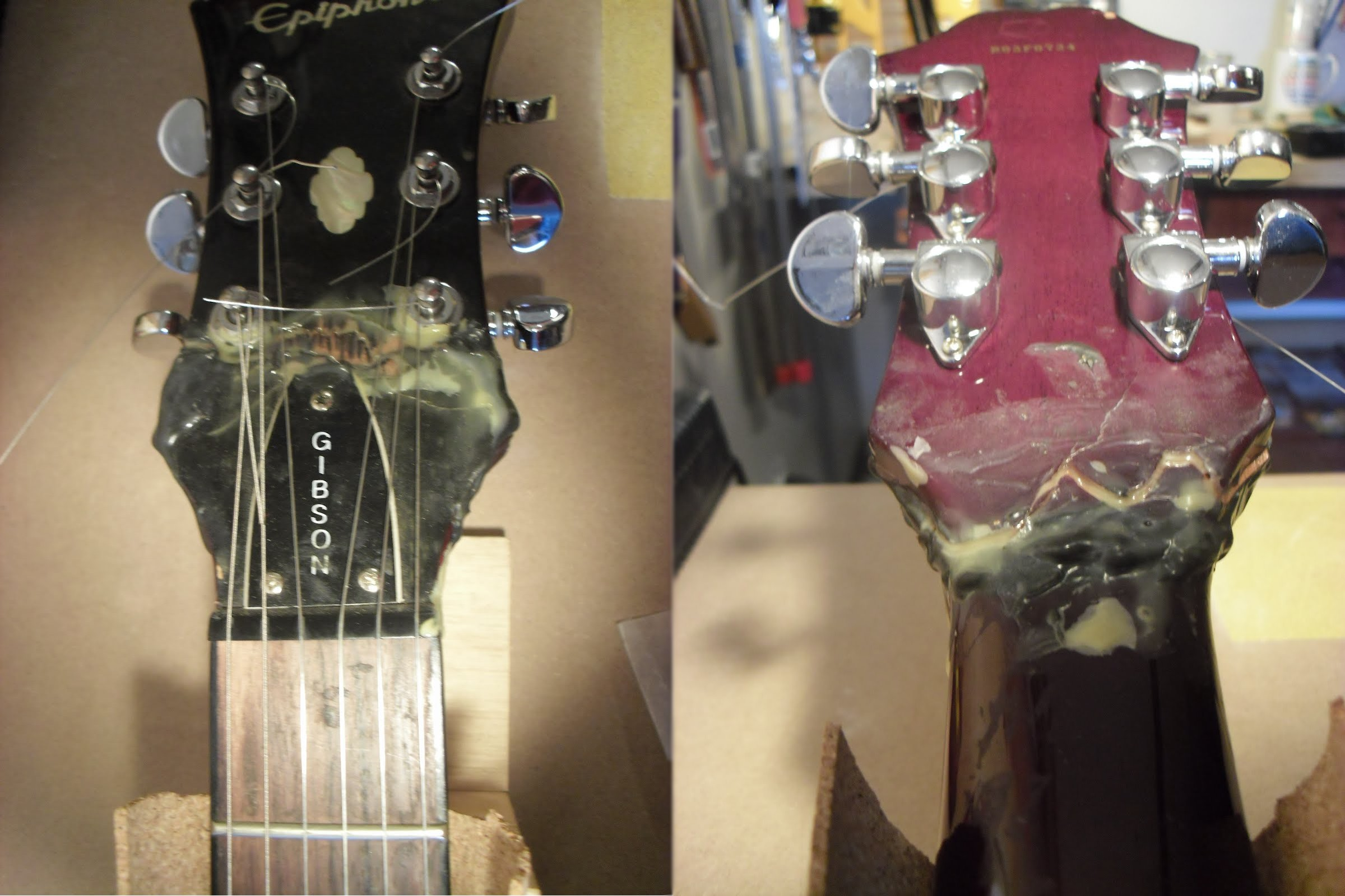 Epiphone-Headstock-Repair