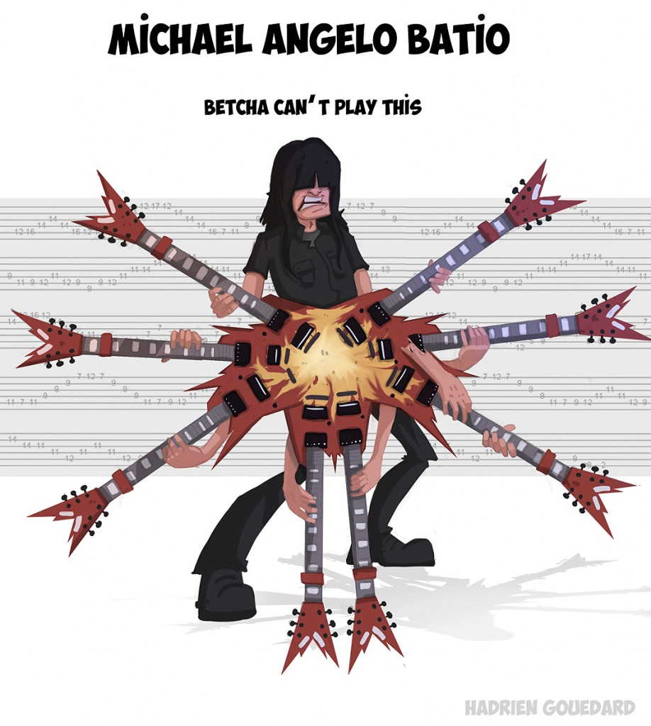 michael angelo batio betcha can t play this guitar fail. Black Bedroom Furniture Sets. Home Design Ideas