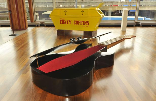 Crazy Guitar Coffin