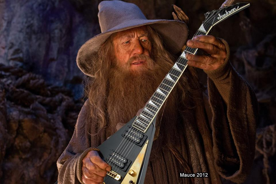 Gandalf Rocks Hard!