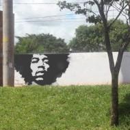 Crazy Jimi Hendrix Street Art…