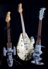 Star Wars Guitars, the Whole Fleet…