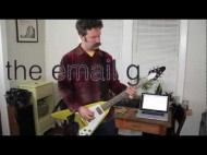 The Email Guitar