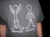 What's the Difference Between a Drummer and a Guitarist ?