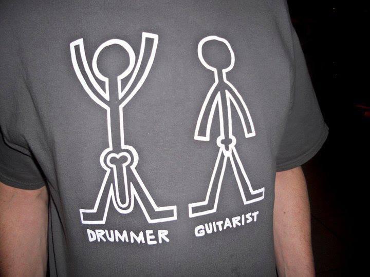 Drummer-Guitarist