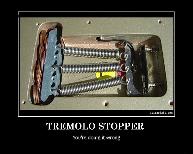 Tremolo-Stopper