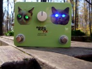 Cat Eye LEDs FX Pedal