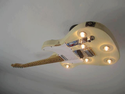 Telecaster-Ceiling-Light
