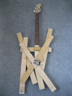 Bed Planks Guitar