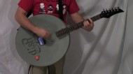 Satellite Dish Guitar