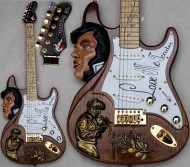 Elvis Tribute Guitar