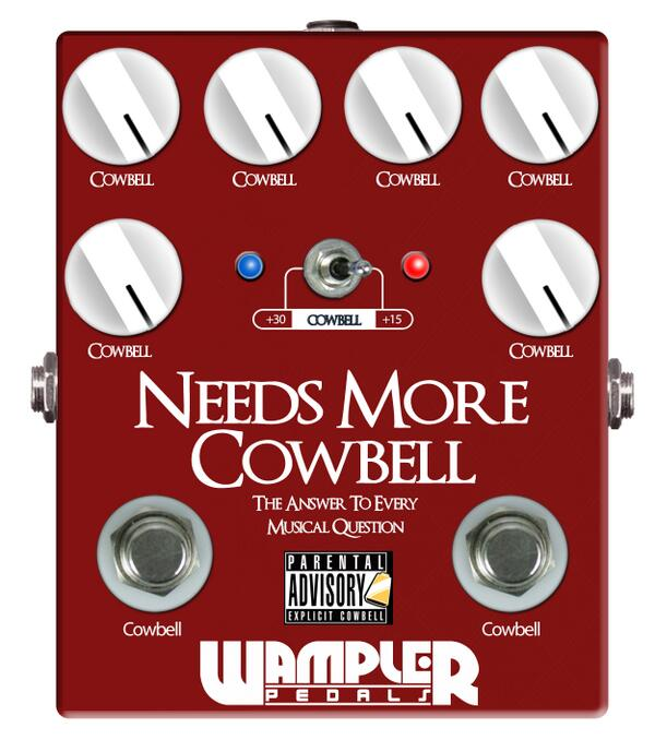 Wampler-pedals-more-cowbell