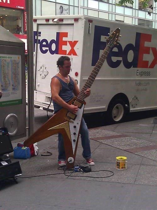 Busking-Epic-Level-Giant-Flying-V