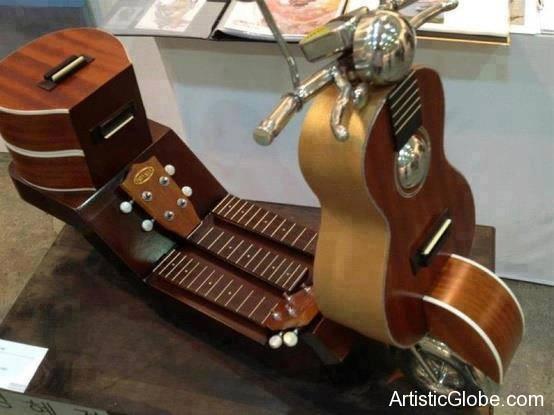 Guitar-Bike