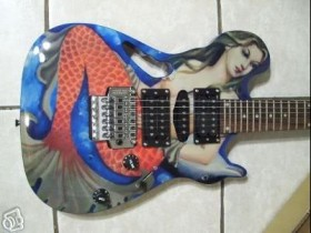 Mermaid Guitar