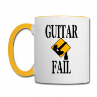 Drinking Coffee in That Mug Will Make You Play Guitar Faster