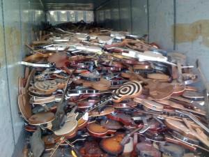 Guitars-Pile