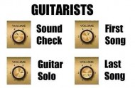 Guitarists Volume Theory