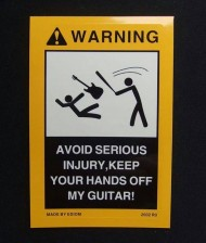Keep Your Hands Off My Guitar