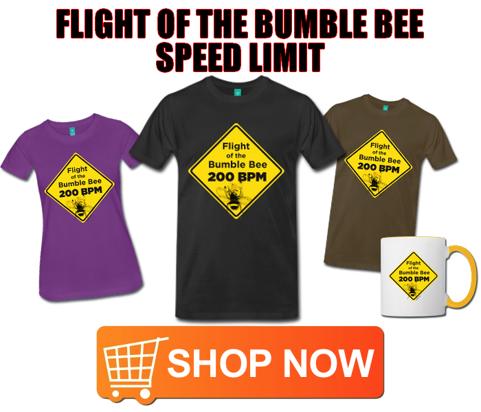 Flight-Bumble-Bee-T-shirt-Guitar-Fail