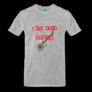 """I See Dead Guitars"" New T-shirts & Mugs [Guitar Fail Shop News]"