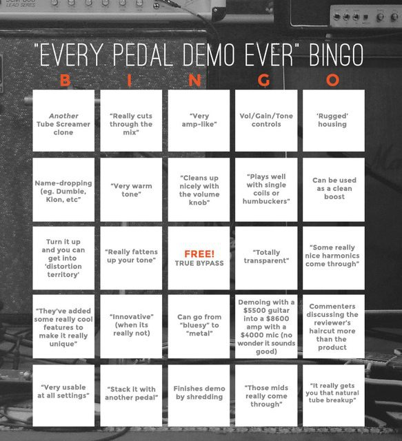 Pedal-Demo-Bingo