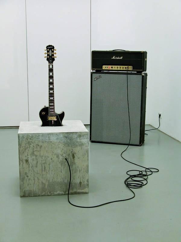 Guitar-Concrete-Block