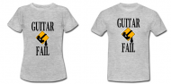 New Guitar Fail Tee-Shirts [Guitar Fail Shop News]