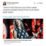 Kirk Hammett's Awkward Comment is… Very Awkward !