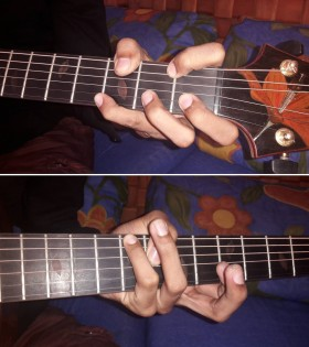 I Betcha Can't Do the Spider Chords !