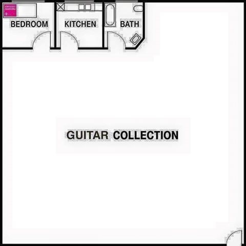 Guitar-Geek-Apartment