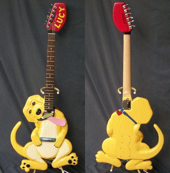 dog-guitar