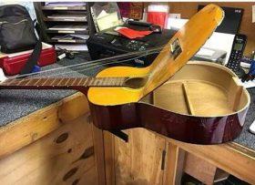 Heavy Strings or Poorly Built Guitar ?