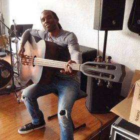 Huge Bass Guitar