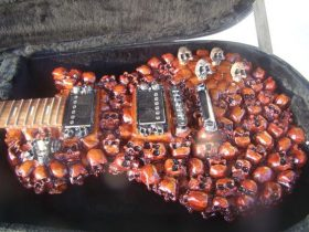 Les Skulls Guitar