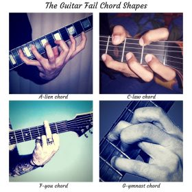 The Guitar Fail Chord Shapes