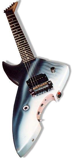 Shark guitar
