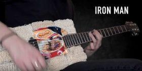 Guitar Made of Noodles !